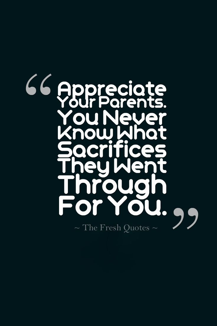 Sacrifice Quotes 40 Best Parents Quotes With Images  Pinterest  Parents Parent
