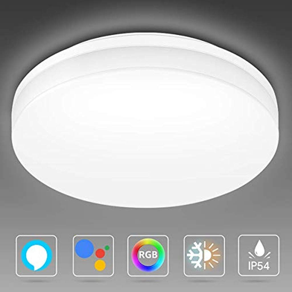 LED Deckenleuchte Lampe Deckenlampe Wohnzimmerlampe Badlampe Küche 12W-60W