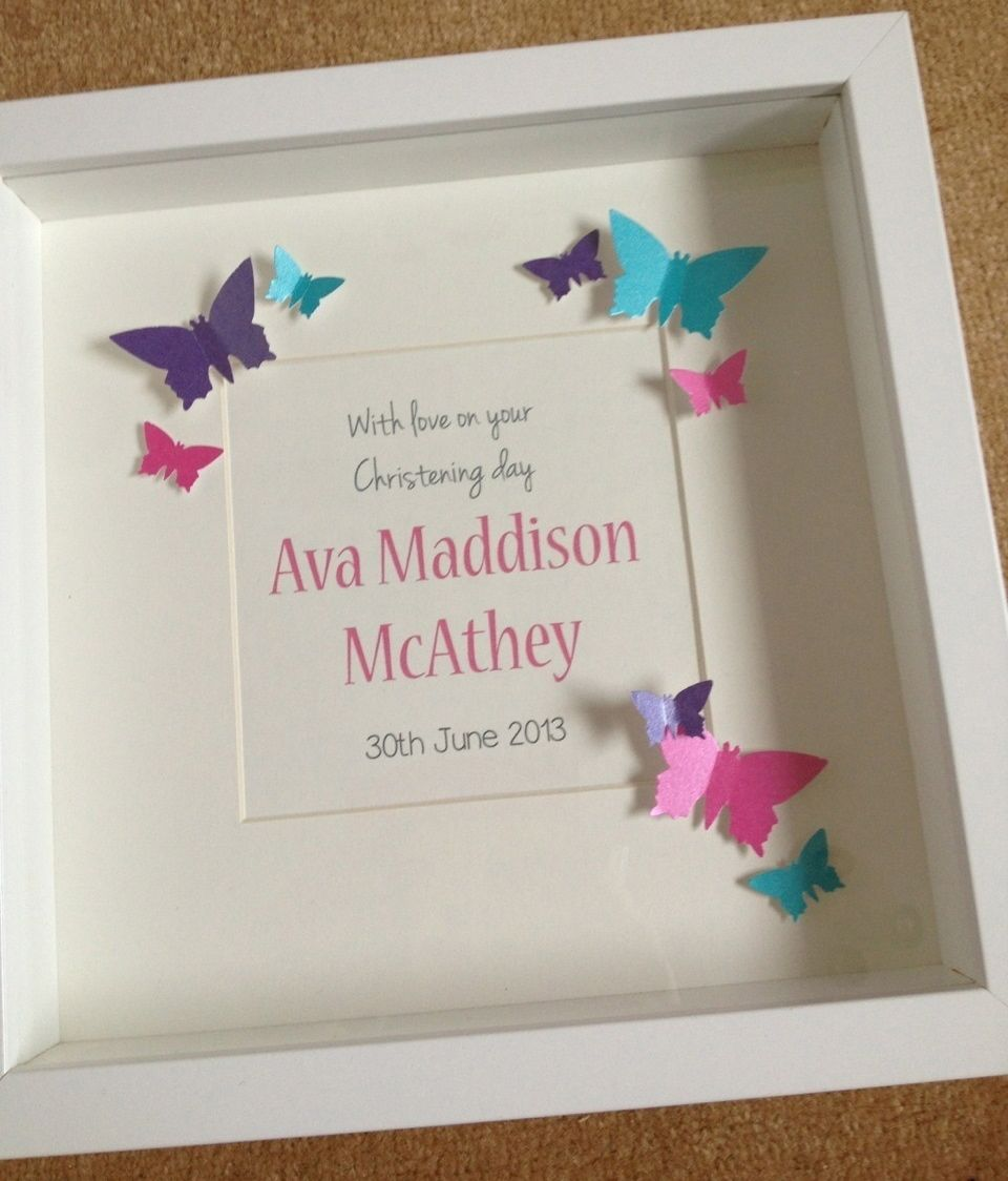A Meaningful Baptism Gift Idea: Handmade Christening Day Gift Ideas Http://on.fb.me