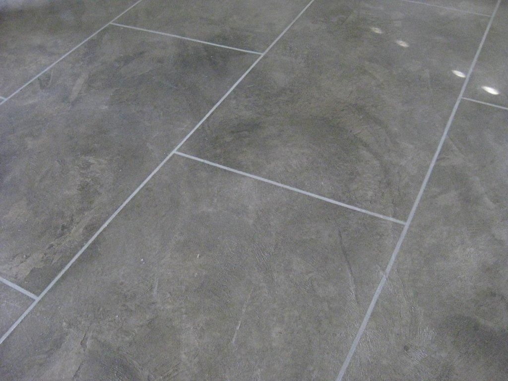 Burnished Cement Dark Polished Concrete Floor Wallpaper Danamac