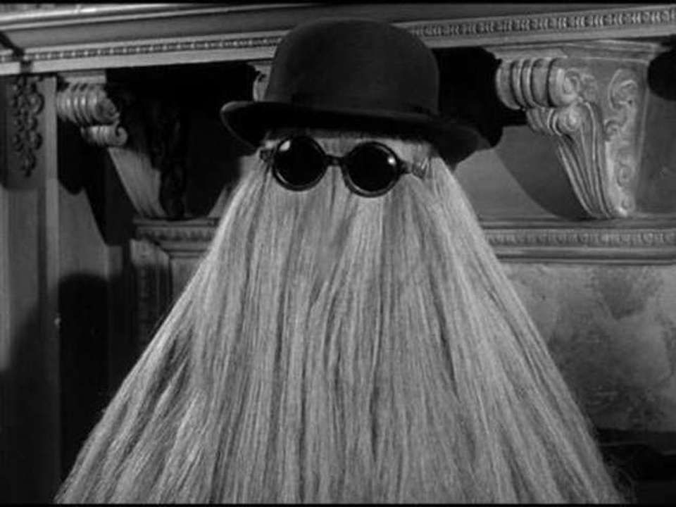 Who Wants To Be Cousin Itt For Halloween Check Out The Perfect Sunglasses To Rock Your Costume On Our Site Addams Family Thick Hair Styles Long Hair Styles