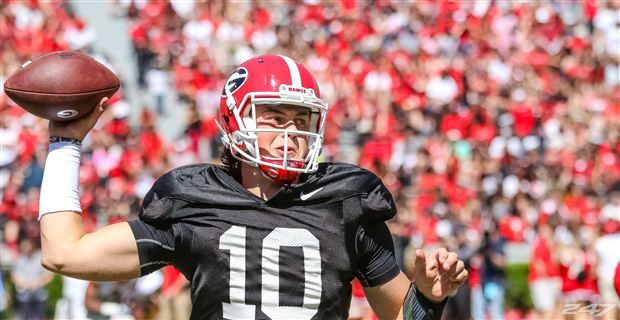 Jacob Eason looks ready to be UGA's starter at quarterback