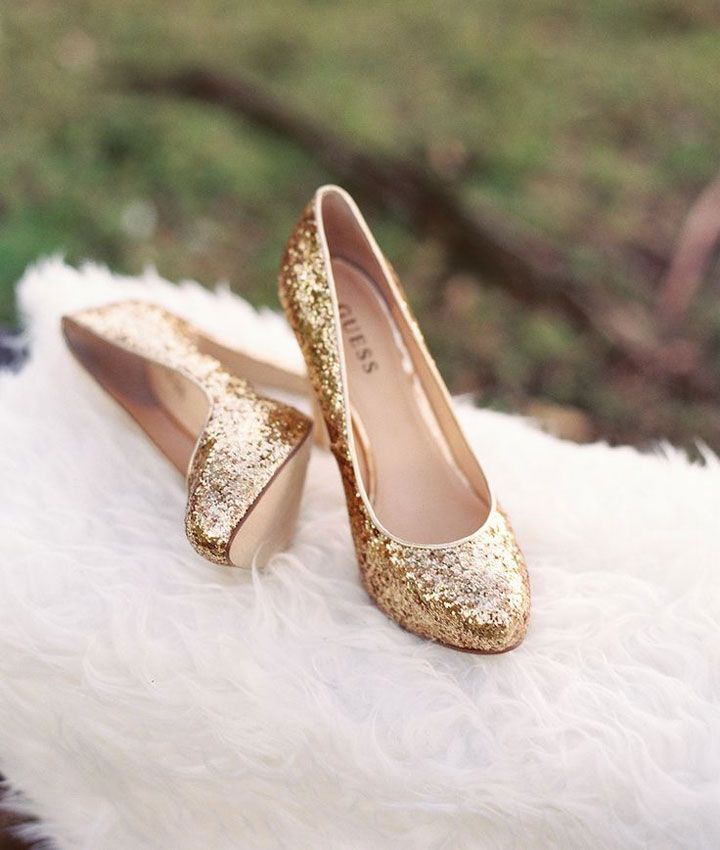 Gold Wedding Shoes See More Http Www Itakeyou Co Uk