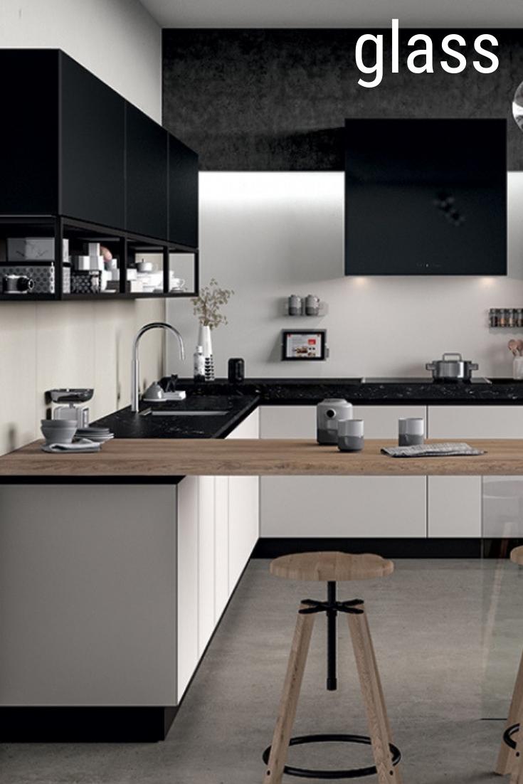 Tutte Cucine Moderne.Cucina Moderna Di Design Con Finiture Vetro Cucine Moderne