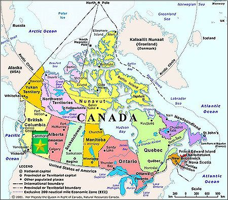 Banff Canada Map Canada Map