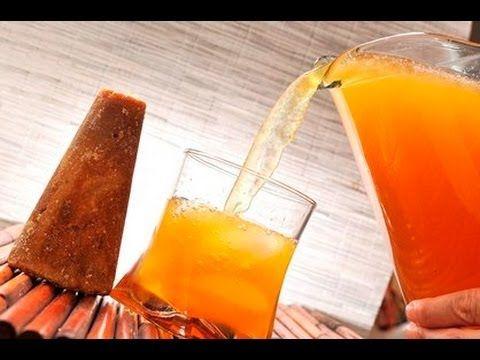 Papelón con limón. Sabrosa y refrescante bebida venezolana.