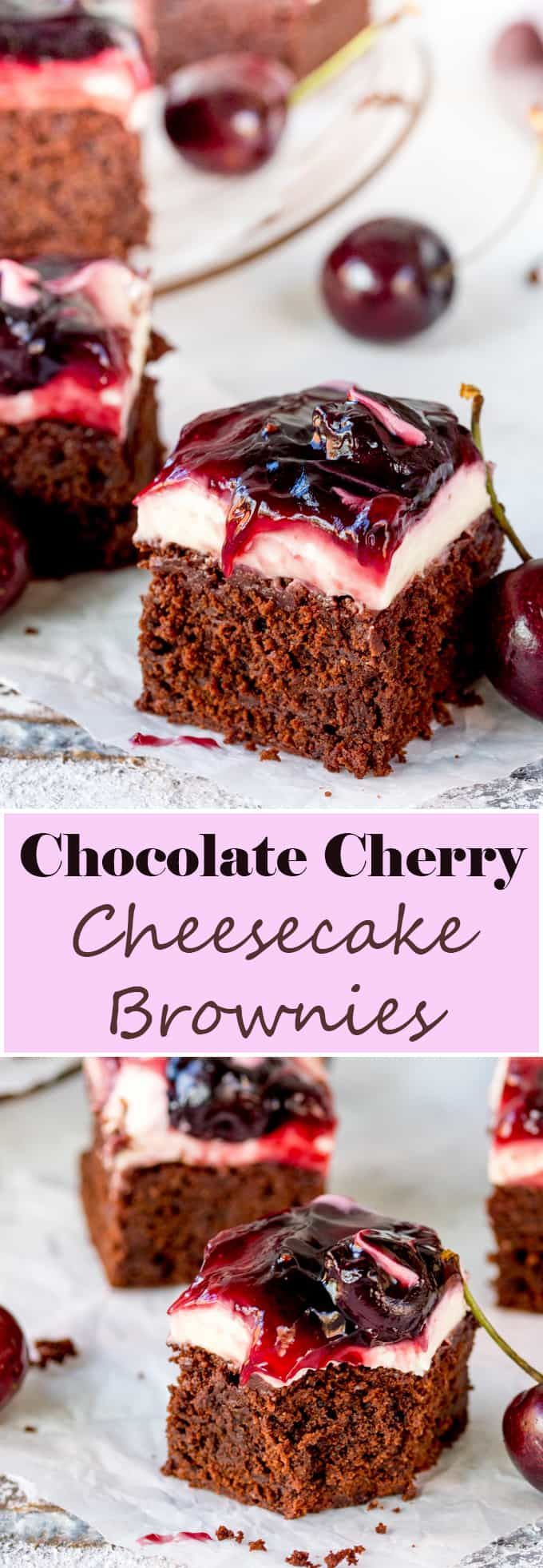 Hooray for two desserts in one with these Chocolate Cherry ...