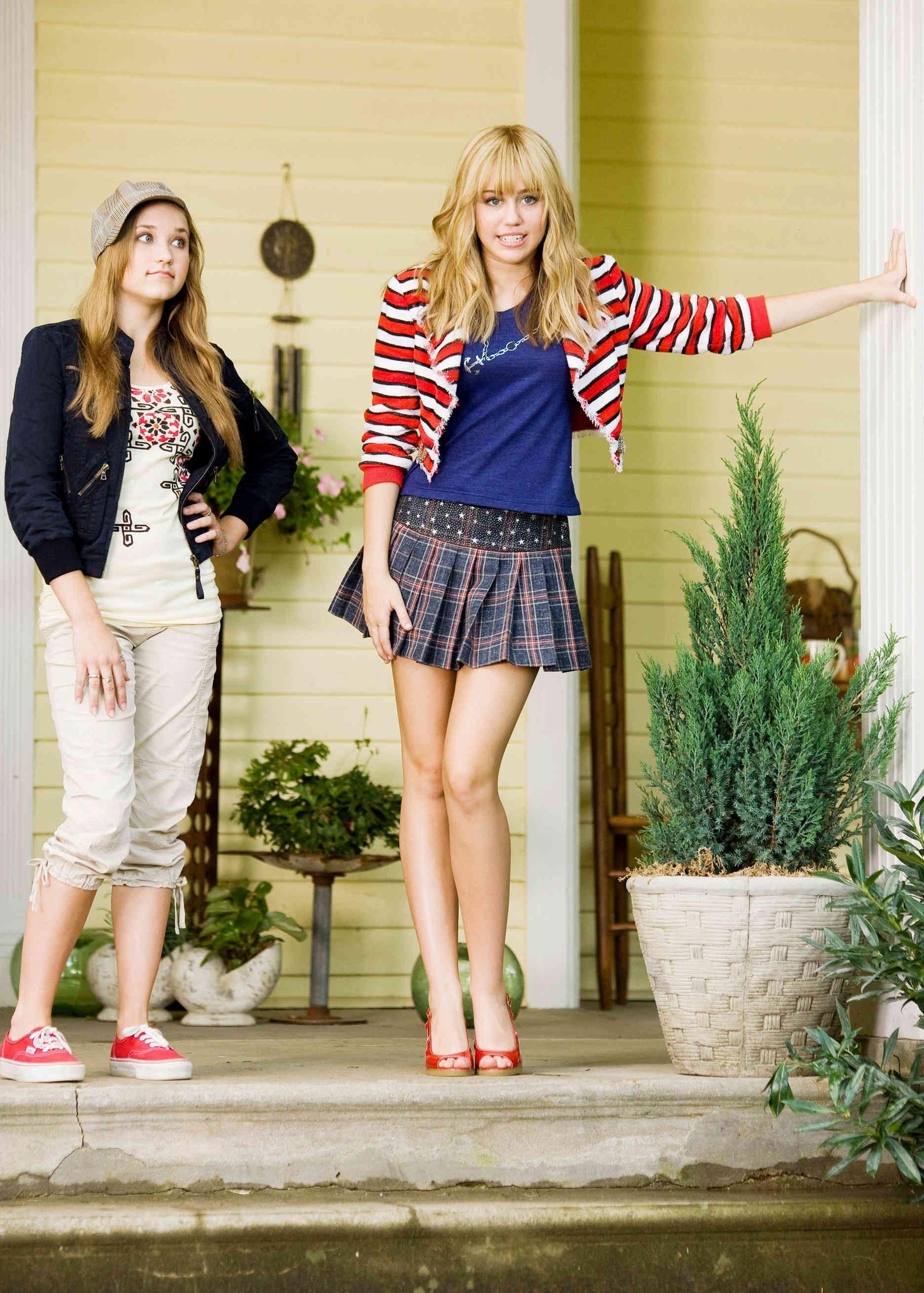 Hannah Montana O Filme Hannah Montana Looks Vintage Femininos Miley Cyrus