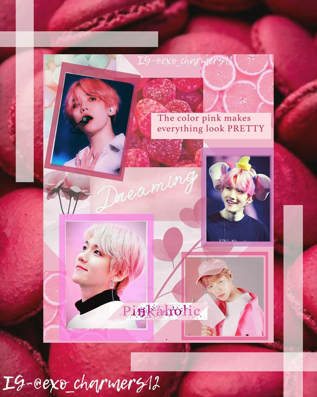 Exo Baekhyun Edit How To Look Pretty Pink Pretty