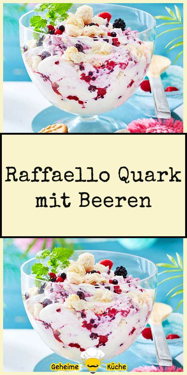 Raffaello Quark mit Beeren