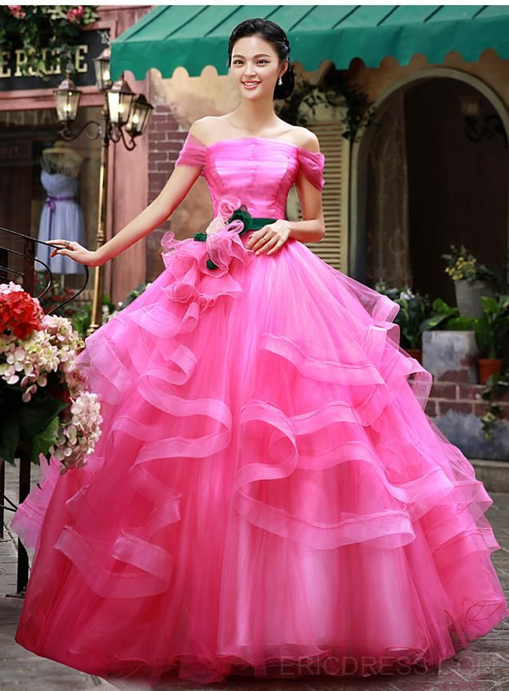 557558b5c1 ericdress.com offers high quality Latest Off-Shoulder Cascading Ruffles  Quinceanera Dress Quinceanera Dresses unit price of   137.69.