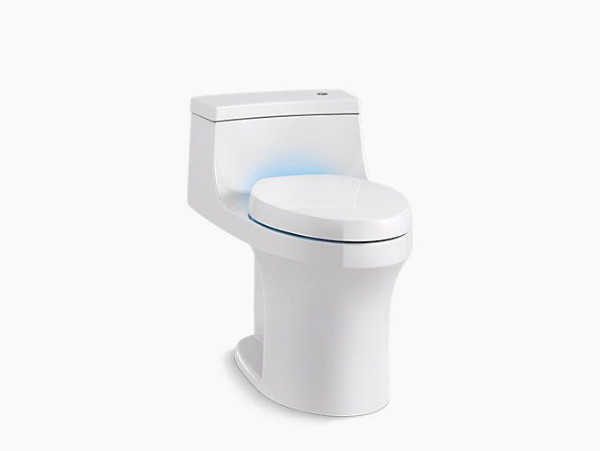 The San Souci Touchless with Purefresh Toilets are for the half bath and the master bath which meet the ADA compliance.