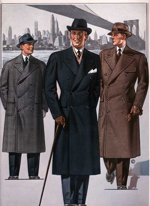 1930's men's fashion | ... Fashion,fashion history site for men ...