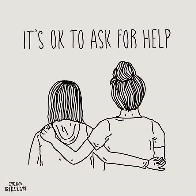 Image result for ask for help is brave