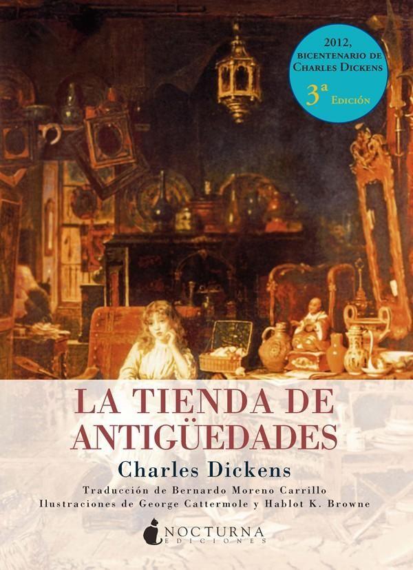 la tienda de antigüedades-charles dickens-9788493801373