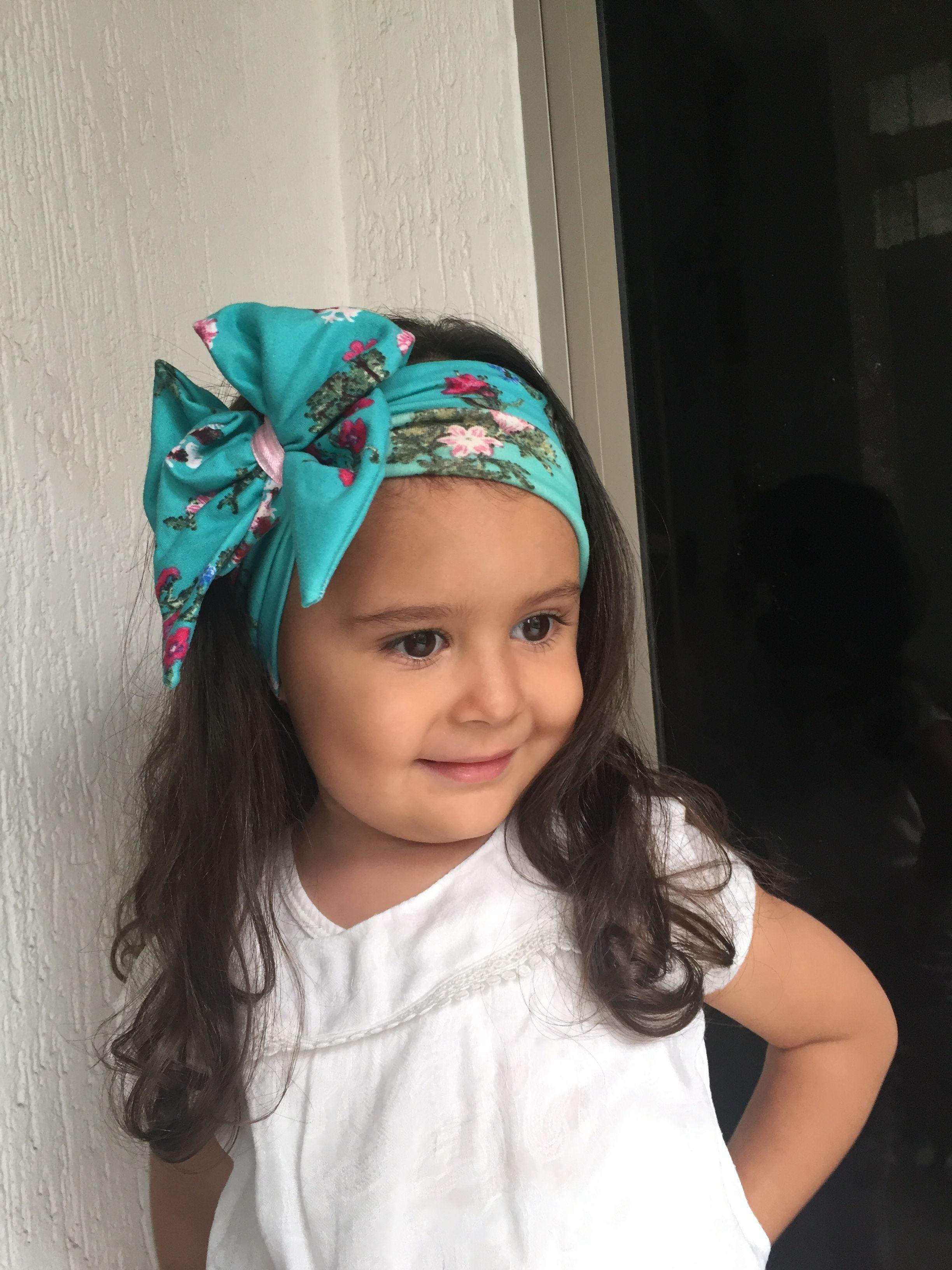 alfiler entonces Practicar senderismo  Turbante para niñas by @grekascrafts   Bufandas para cabello, Turbantes  para niña, Accesorios para cabello de niñas