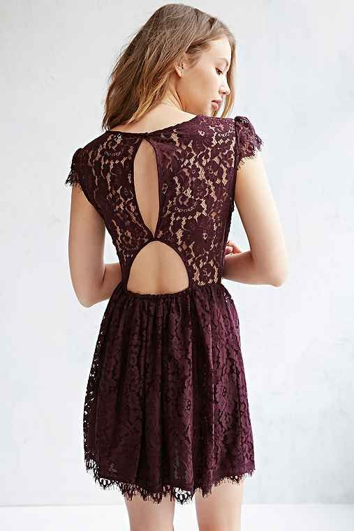 Lace dress urban outfitters catalog