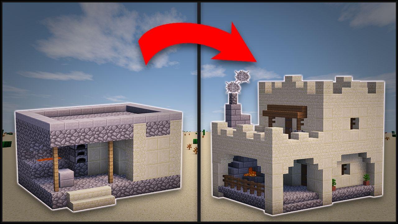 Designing a desert forge | Fandoms. Minecraft | Pinterest | Deserts ...
