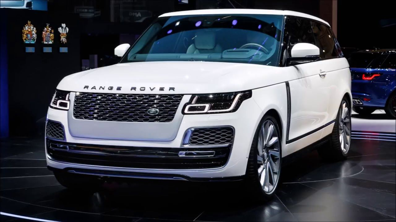 2019 Range Rover SV Coupes The World's First Full size