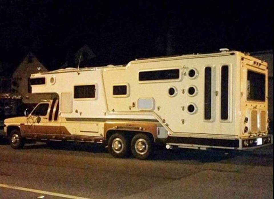 Monster Custom Truck Camper Truckcamper Truck Camping Best