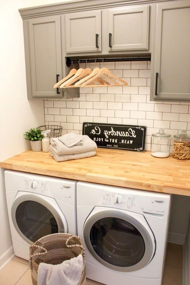 50 modern minimalist laundry room ideas for small space on extraordinary small laundry room design and decorating ideas modest laundry space id=68523