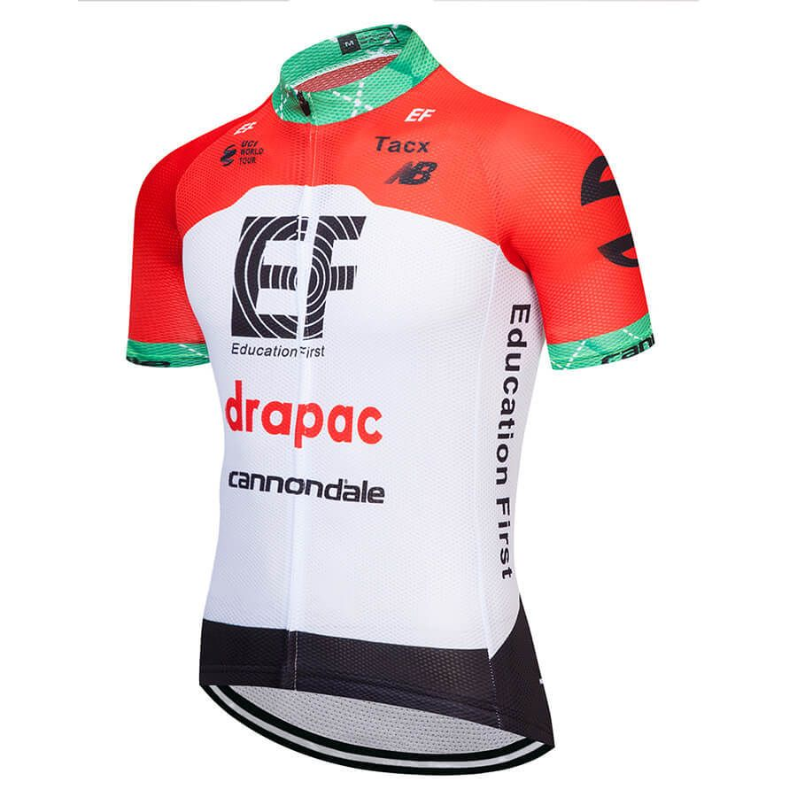 Team Ef Drapac Cannondale 2018 Cycling Jersey Red  03b34203d