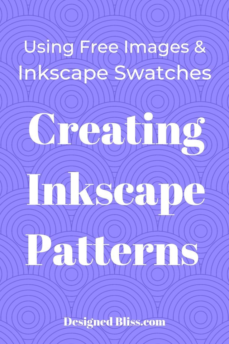 Inkscape Pattern Fill Tutorial (With images) Pattern