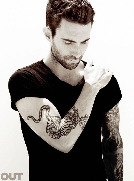 Adam Levine. If you've ever watched a Maroon 5 music video ...