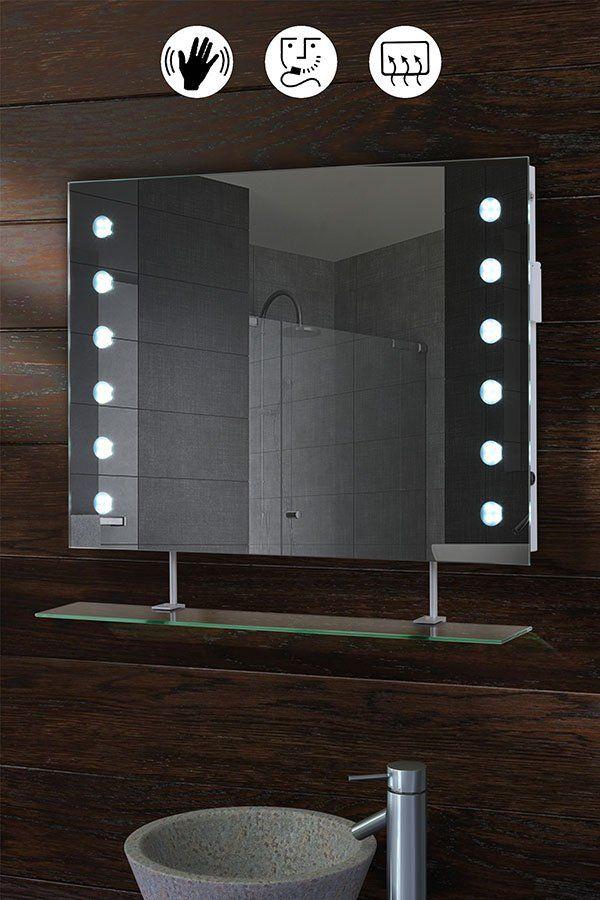 REFLEX LED Bathroom Mirror with Shelf | Bathroom mirror ...