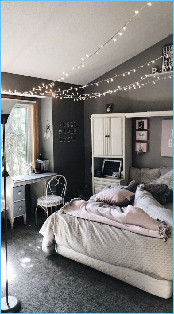 38 Decorating The Aesthetic Teenage Bedroom Fun And Energetic Aesthetic Room 29 Bedroom Decorating Tips Simple Bedroom Modern Bedroom Aesthetic teenage bedroom ideas