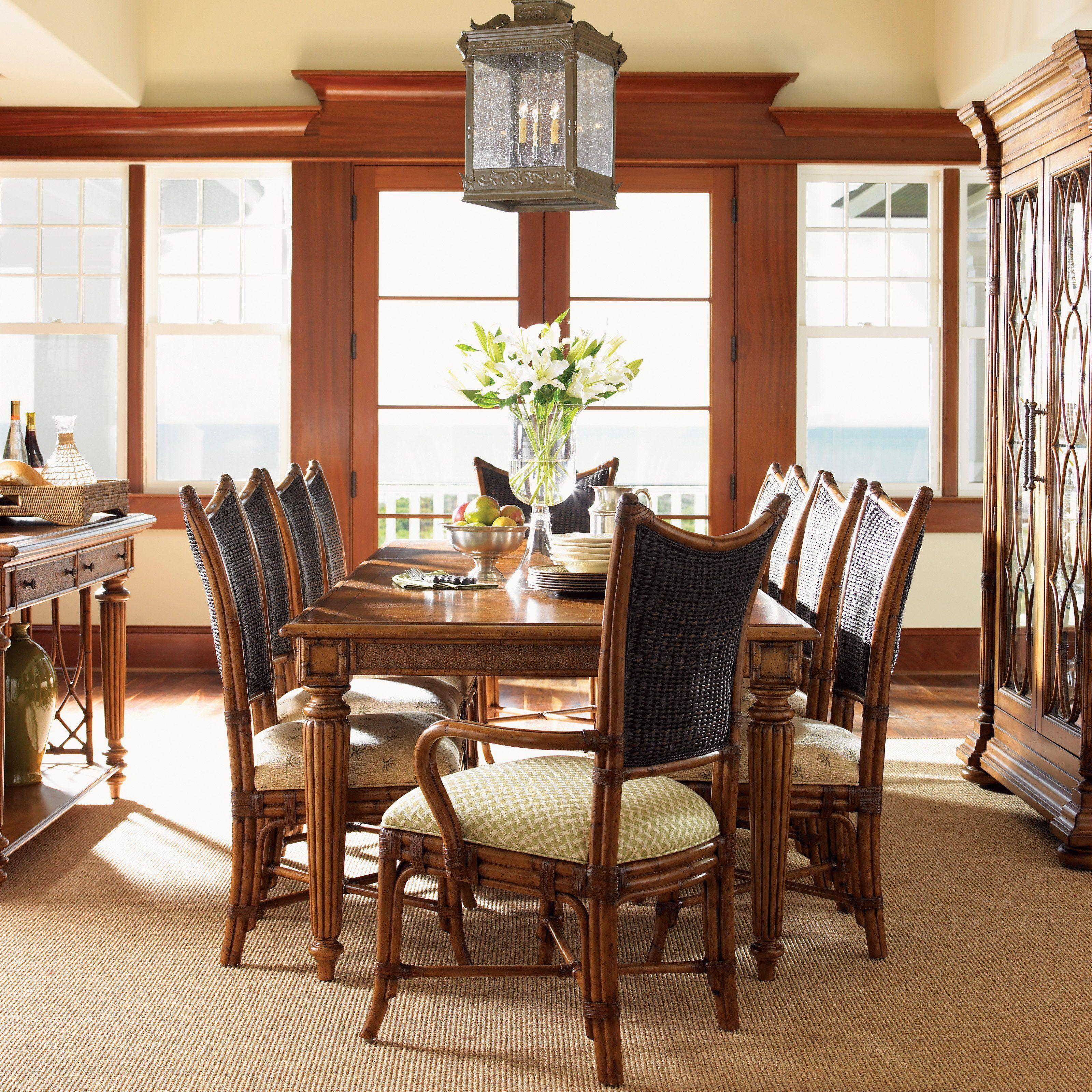 Tommy Bahama Island Estate Grenadine Rectangular Dining Table 01