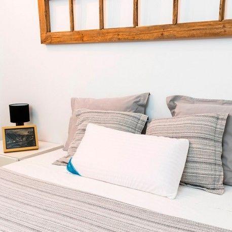almohada viscoelástica de látex cecorelax   decoracion del hogar