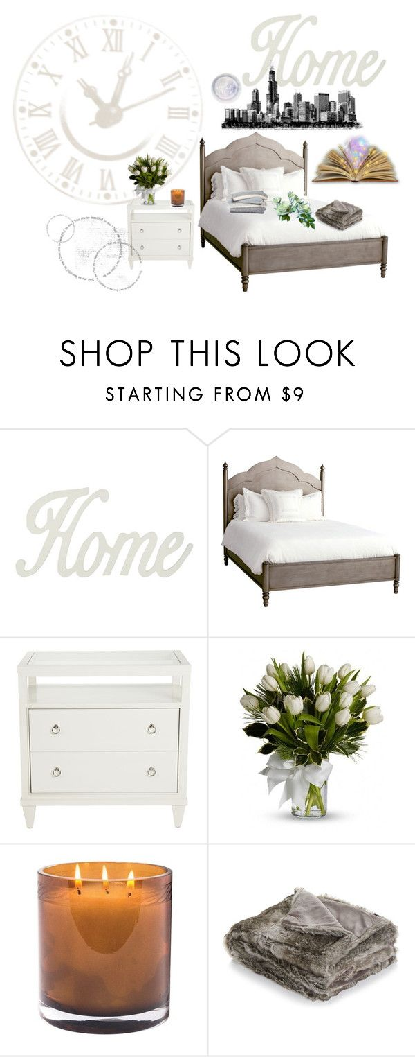 """""""Bedtime story"""" by nescio ❤ liked on Polyvore featuring interior, interiors, interior design, home, home decor, interior decorating, M&Co, Redford House, Ethan Allen and Laura Mercier"""