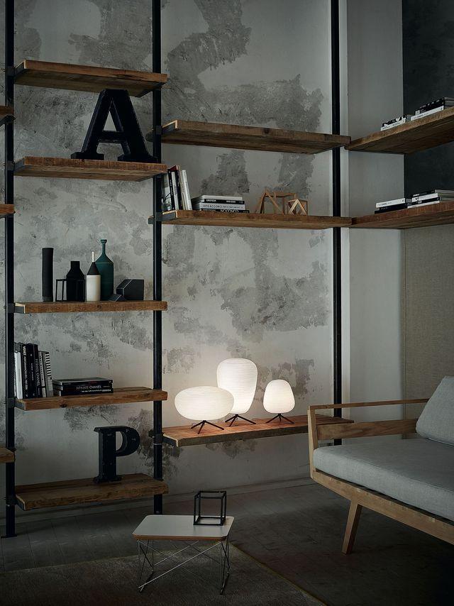 salon esprit loft shopping d co pour s 39 inspirer c t maison esprit et salon. Black Bedroom Furniture Sets. Home Design Ideas