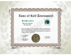 fake golf handicap certificate fake_certificate diploma_company - Fake Golf Handicap Certificate Template