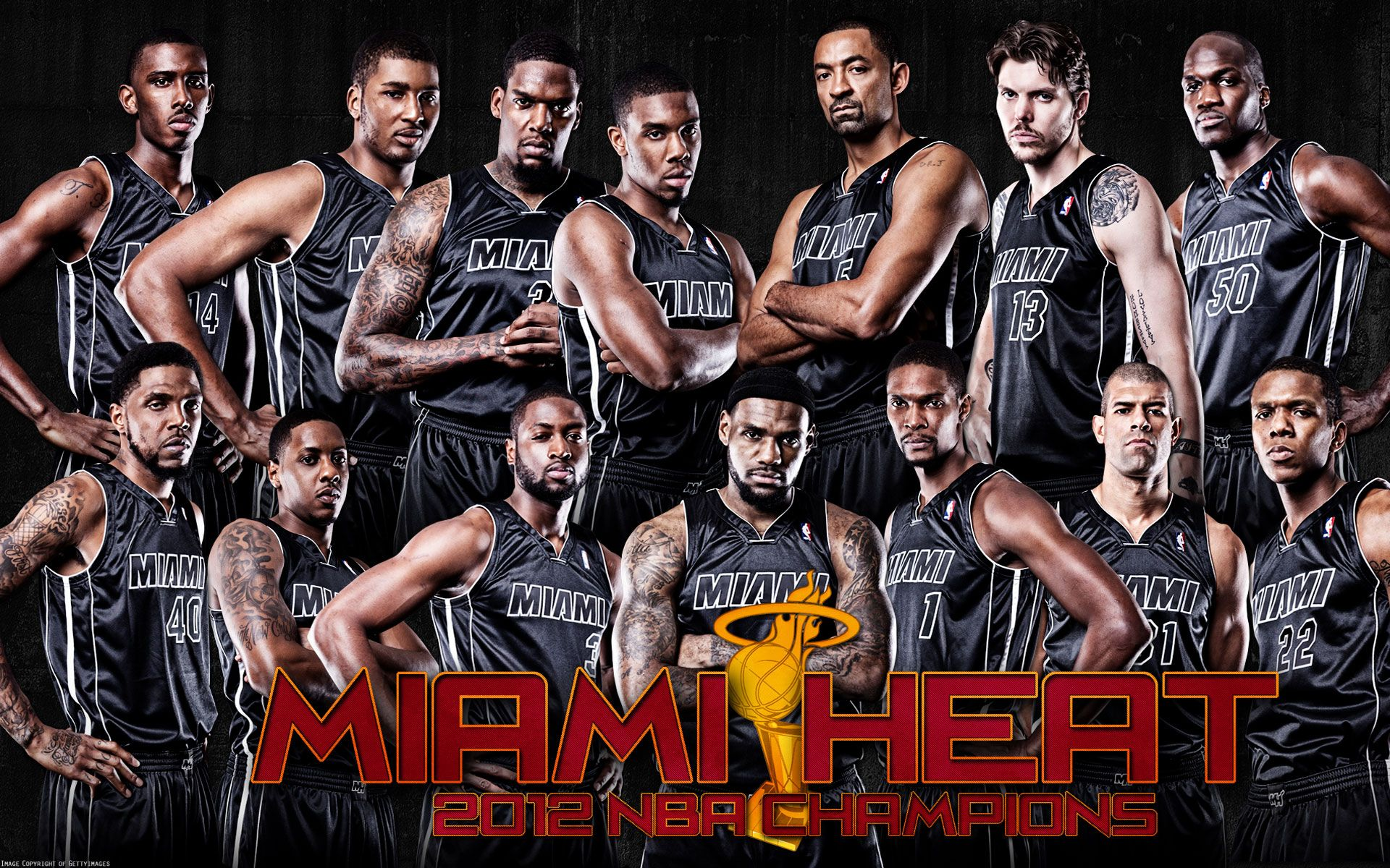 Heat Miami team pictures