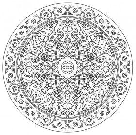 orientalische motive oriental design malvorlage auf keilrahmen mandala 123 lebensfreude. Black Bedroom Furniture Sets. Home Design Ideas