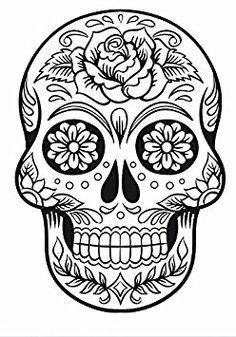 Imagem Relacionada Caveira Mexicana Desenho