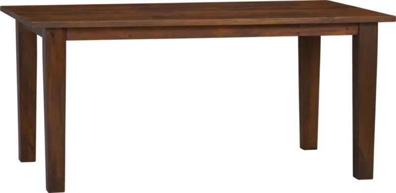 Basque Honey 65 Dining Table In Dining Tables Crate And Barrel There S Also A