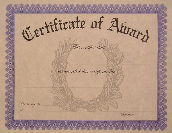 blank award certificate templates download vector about blank award certificates item 5 vector