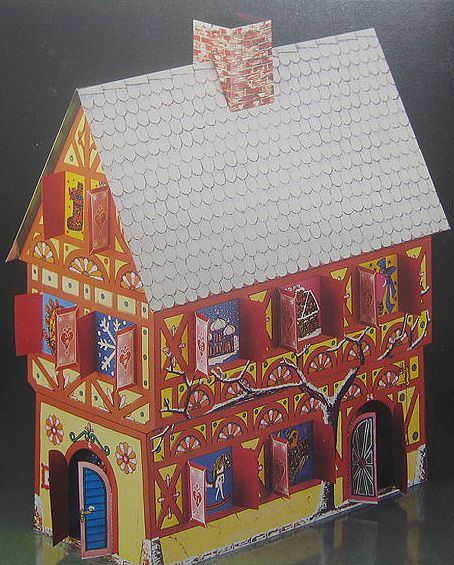 Advent Calendar Kit Christmas House Made In Germany Diy 3 D Large