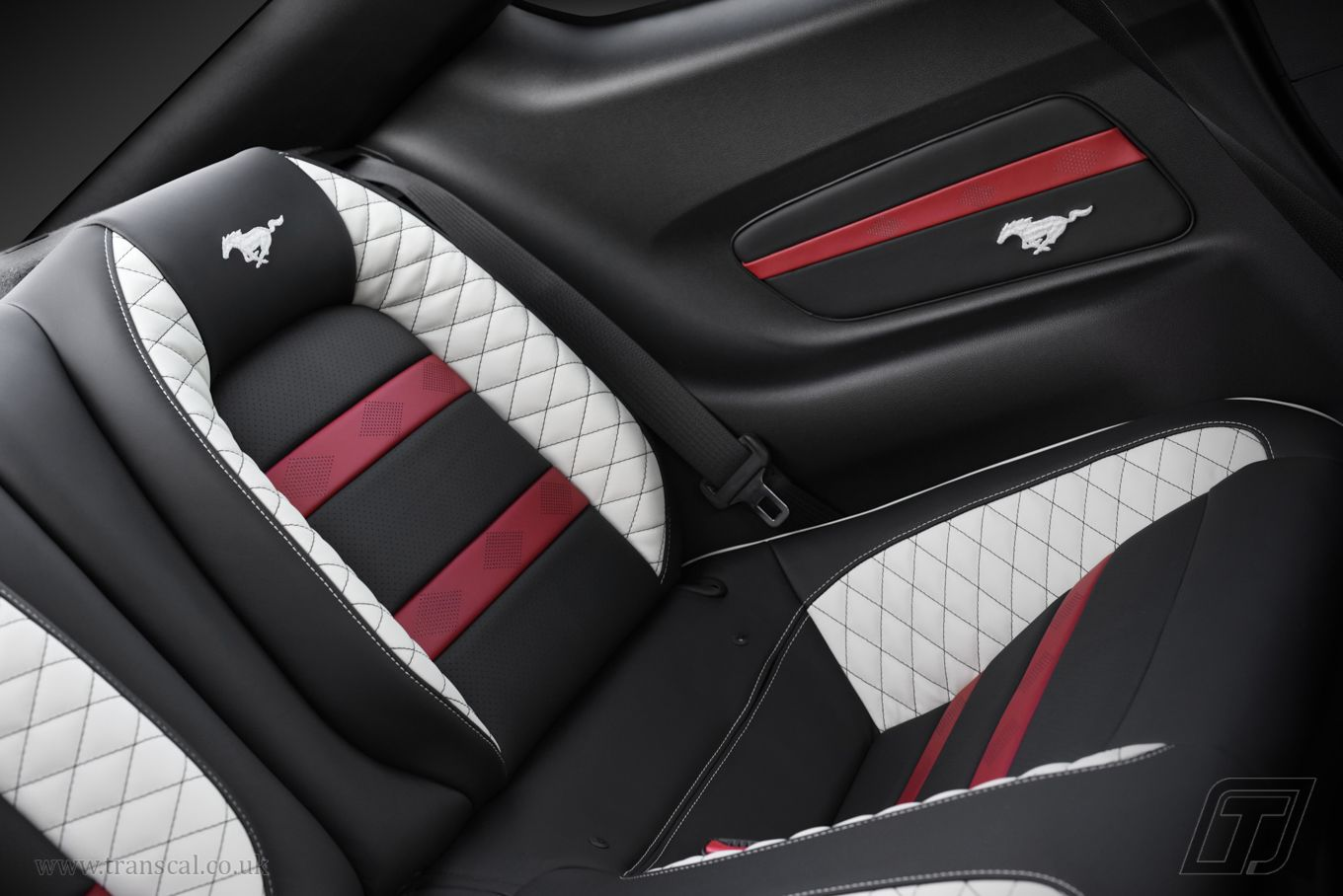 Ford Mustang Bespoke Leather Interior Leather Car Seat Covers