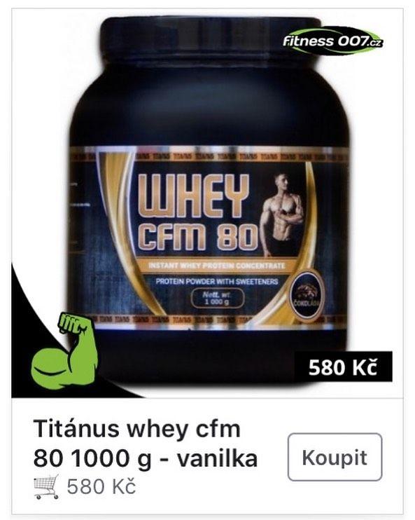 Potřebuješ doplnit zásobu? 💪  Výrobky zn. TITANUS najdeš i na @fitness007cz 👍  Tak neváhej a zač...