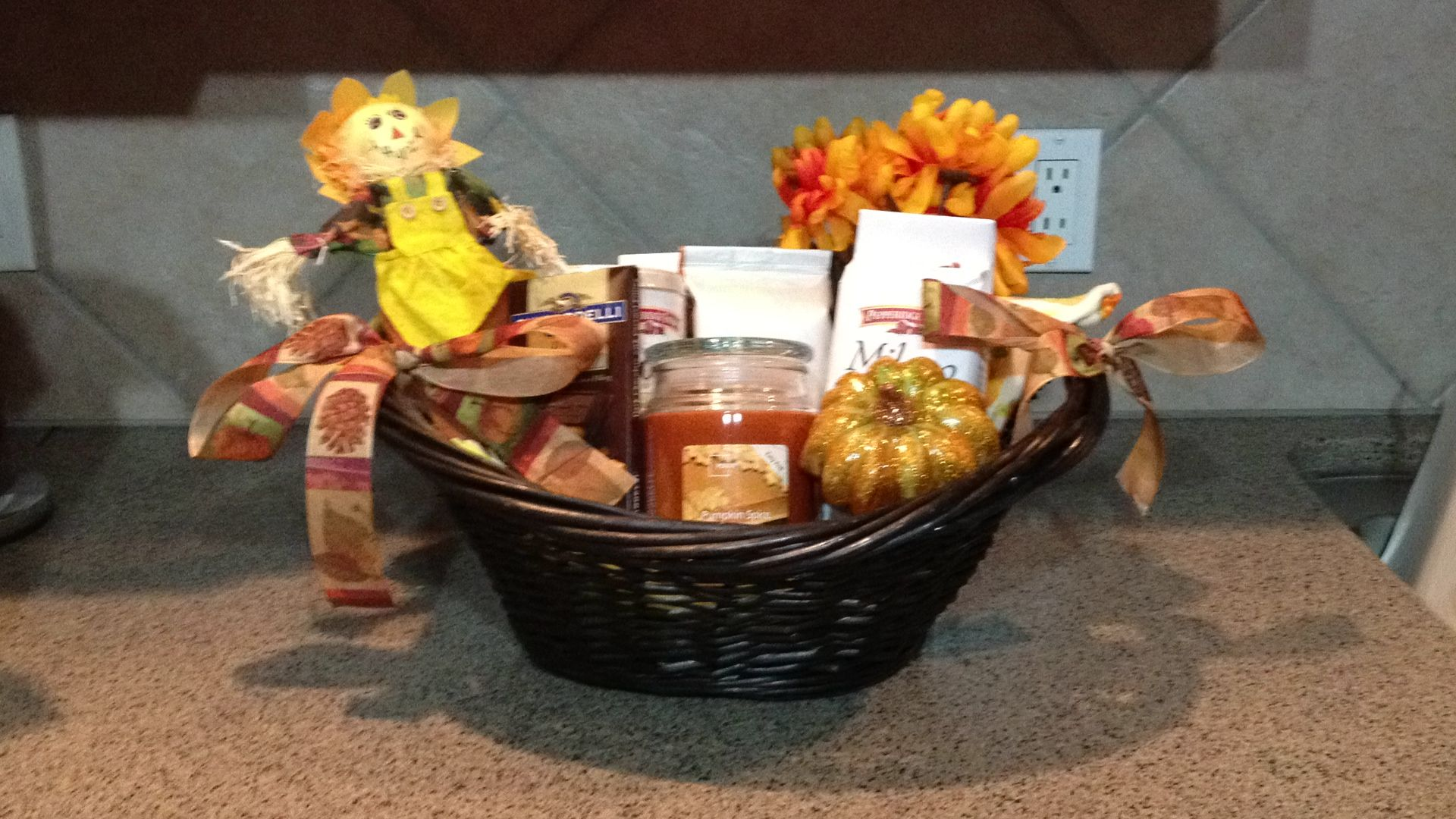 fall gift basket | diy | pinterest | fall gift baskets, gift baskets