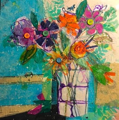 My latest piece on living an artful life, in honor of my mother, Sally.