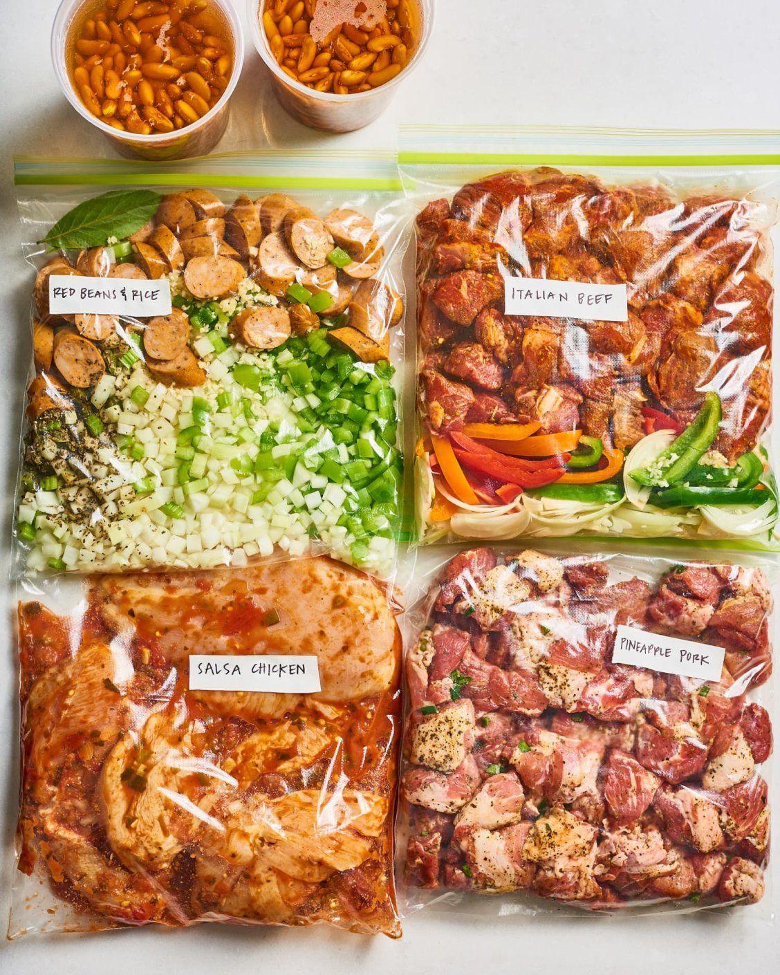 Meal Prep Plan: How I Prep a Week of Instant Pot Dinners #mealprepplans