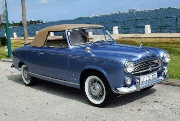 Geliebte Impressively Restored: 1959 Peugeot 403 Cabrio | Peugeot ( France @BR_07