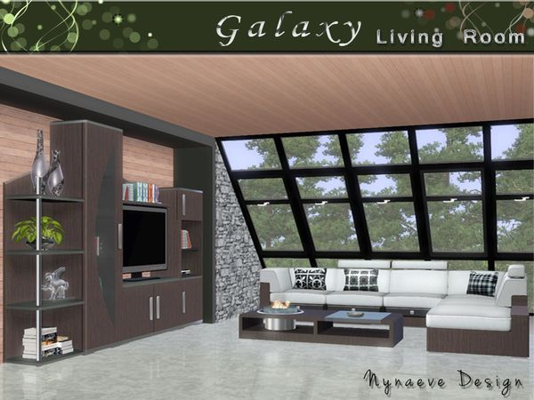 sims 3 cc furniture. Galaxy Living Room By NynaeveDesign - Sims 3 Downloads CC Caboodle Cc Furniture