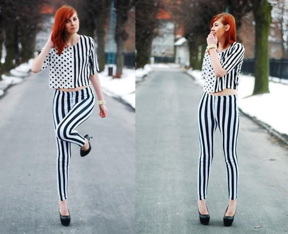 Lots of stripe and a few dots-perfect!