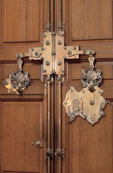 Blenheim. - the front door lock. | Blenheim, Castle Howard ...